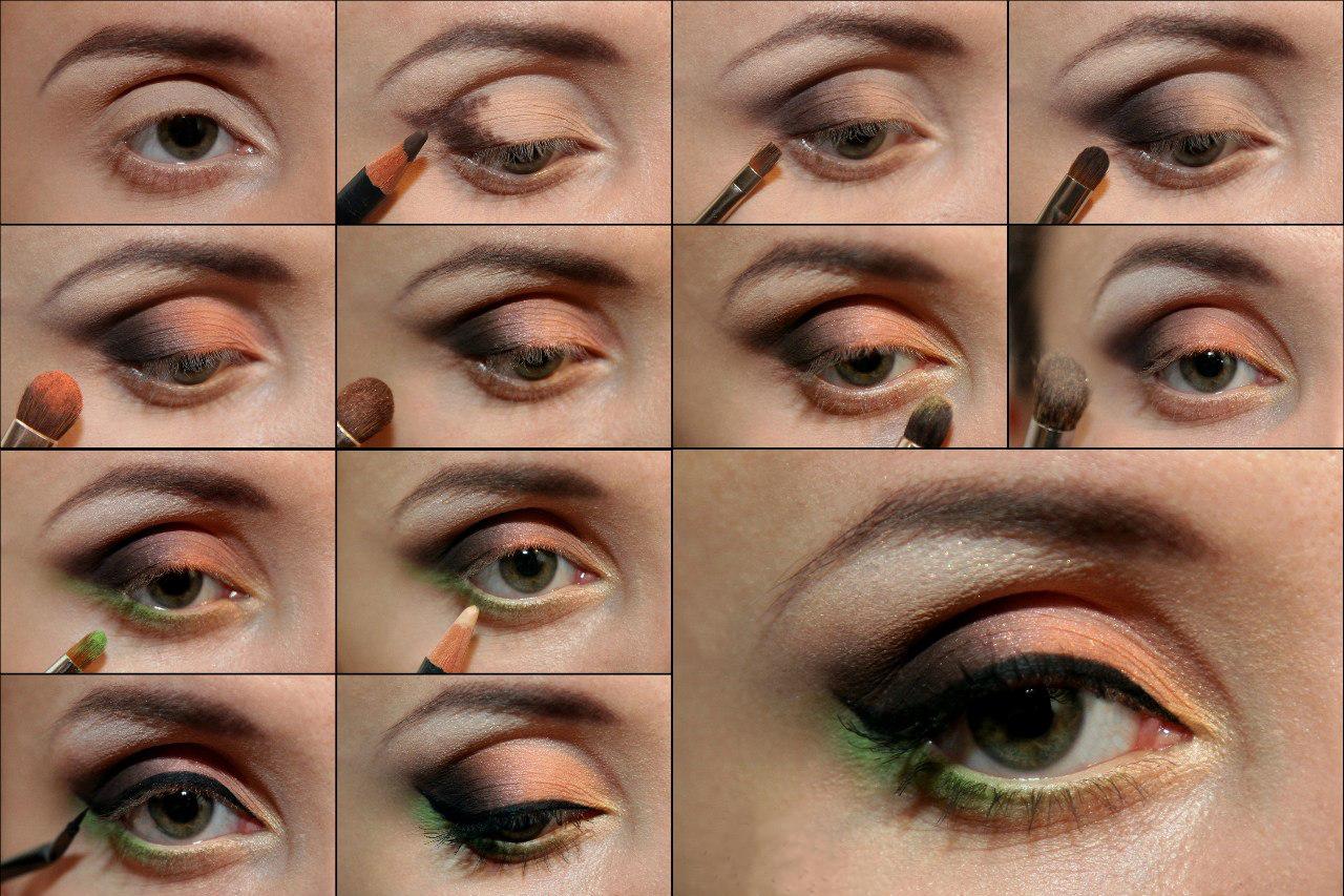 украинская как правильно и красиво делать макияж фото они