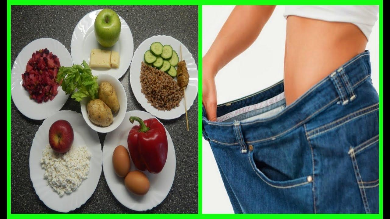 Как сбросить вес в домашних условиях питание