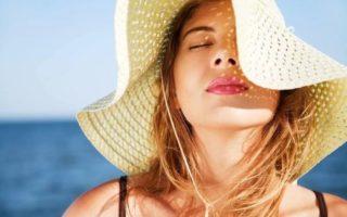 Как защитить кожу лица летом
