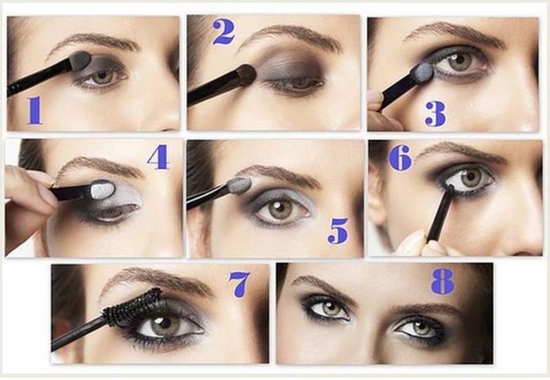 Классический макияж: пошаговая инструкция
