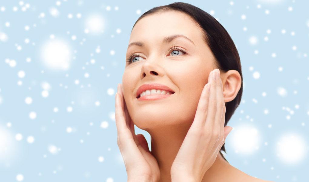 Увлажнение кожи тела